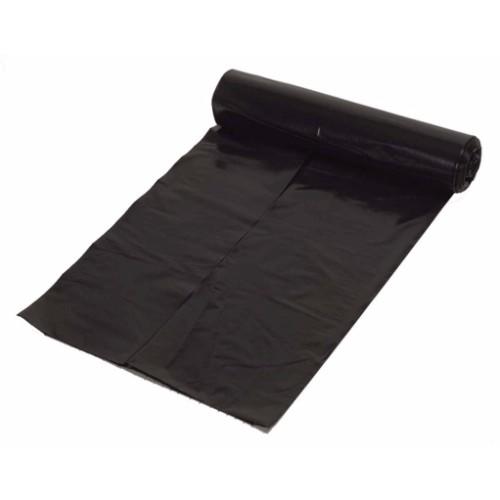 Plastsäck 70 l, 25 st/rulle svart
