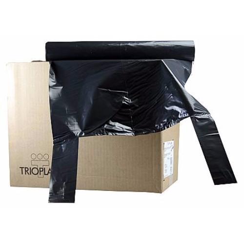 Plastsäck 125 l, 10 st/rl svart knyt
