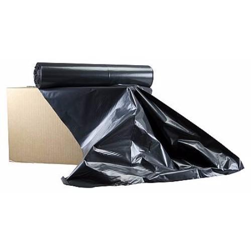 Plastsäck 160 l, 10 st/rl svart