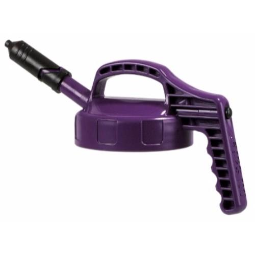 Mini-Lock med kort pip, Oil Safe, Violett