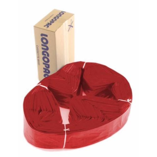 Säckmagasin Longopac Maxi STD 110m Röd