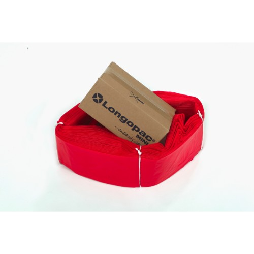 Säckmagasin Longopac Mini STD 60m Röd