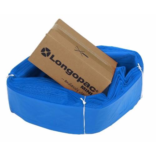 Säckmagasin Longopac STD mini blå