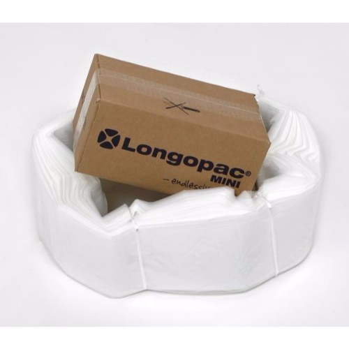 Säckmagasin Longopac mini transparent strong 45 m