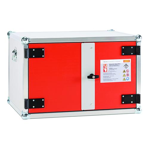 Förvarings- och laddningsskåp Premium för Lithium-ion batterier