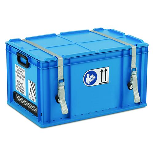 Transportbehållare plast, rektangulär 60x40x34 cm