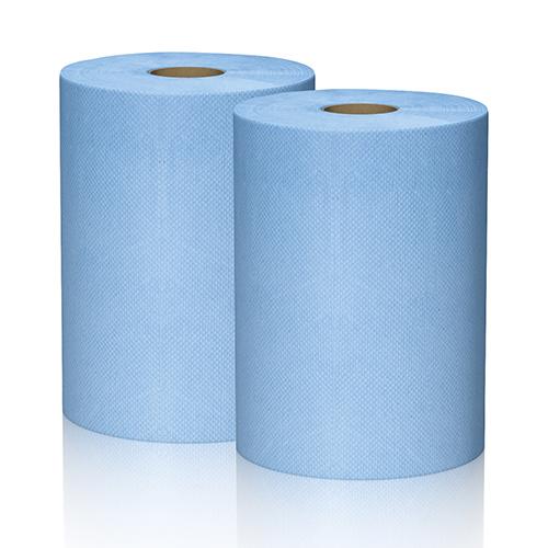 Torkpapper, 3-lager,två rullar för svår smuts