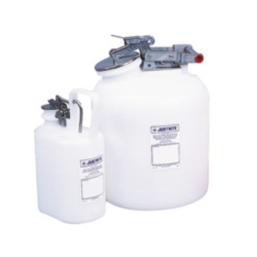 Avfallsbehållare PE för frätande vätskor, oval, 4L. FM