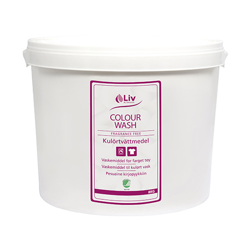 Liv Colour Wash kulörtvätt 8 kg