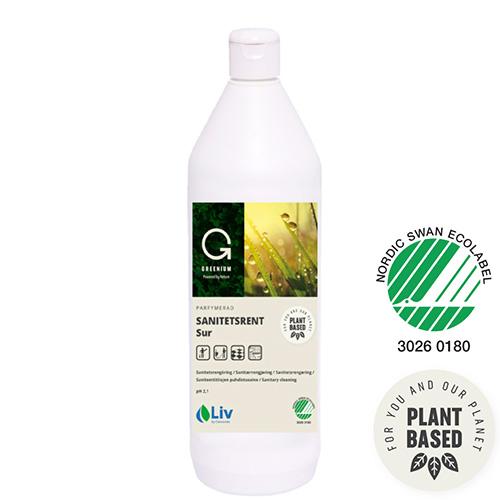 Liv Greenium Sanitetsrent sur 1L
