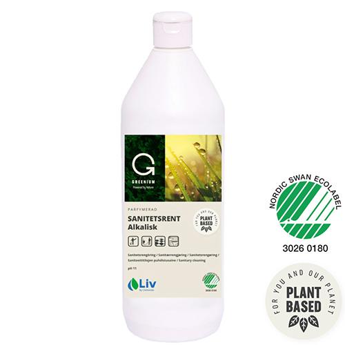 Liv Greenium Sanitetsrent alk 1L