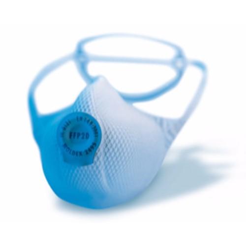 Korttidsmask Moldex FFP 2D 1-Strap med ventil