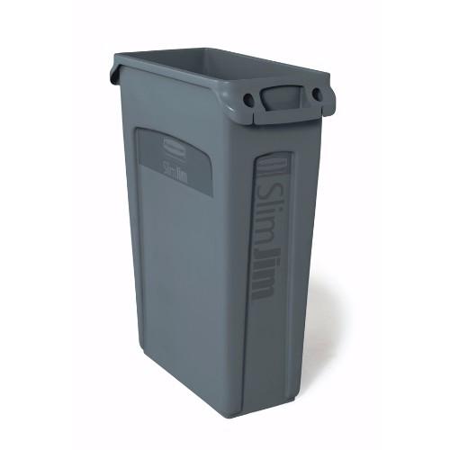 Avfallsbehållare Slim Jim 87 liter