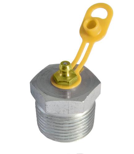Smörjnippelskydd 10,5 mm, gul