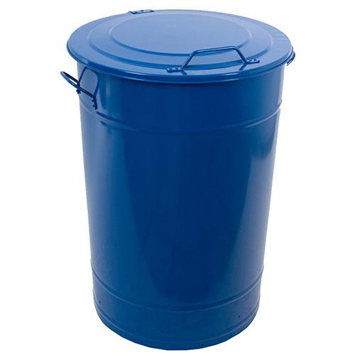 Avfallsbehållare 115 l Blå