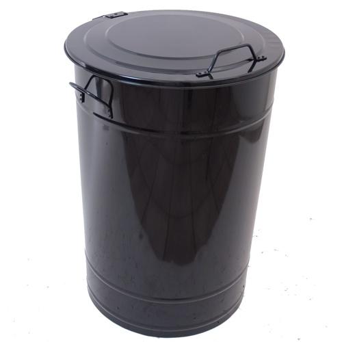 Avfallsbehållare 160 l Svart