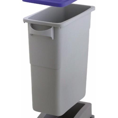 Avfallsbehållare Slim Jim 60 liter