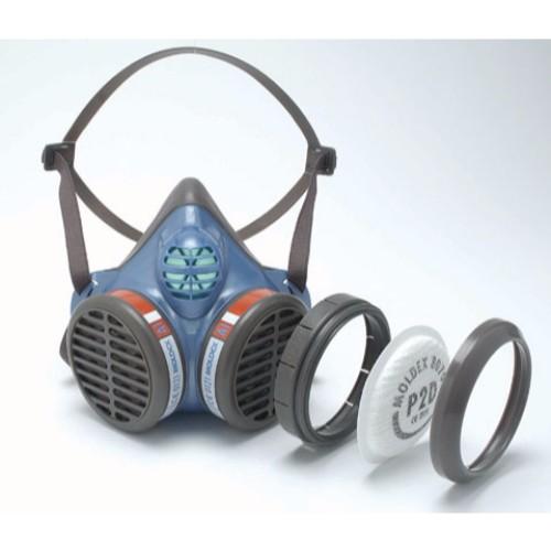 Halvmask med intregerade filter A2P3 10-pack