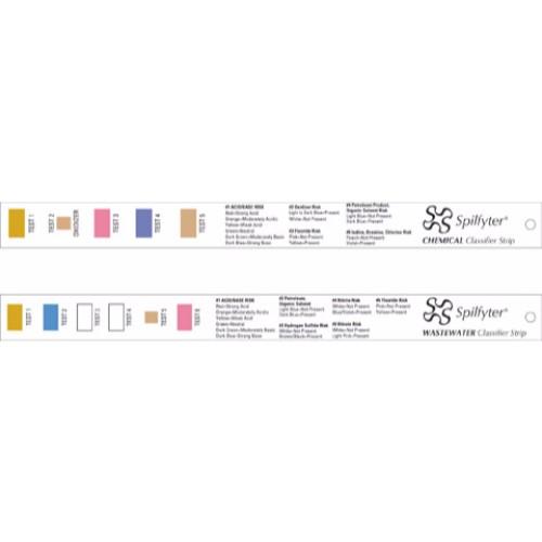 Klassificeringsremsor för kemikalier, 10 st