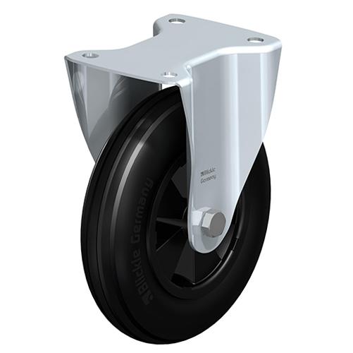 Fast hjul med fästplatta