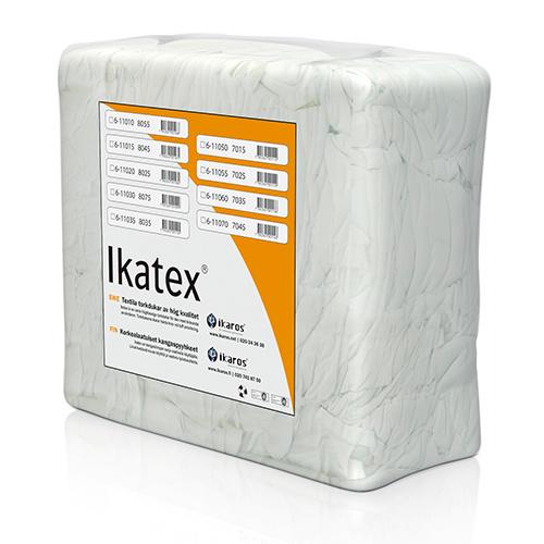 Ikatex 8025 Trikå Standard, Vita torkdukar i bal