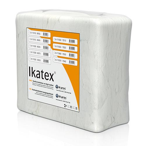Ikatex 8075 Frotté Premium, Vita torkdukar i bal