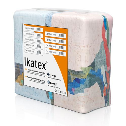 Ikatex 7015 Trikå Standard, Kulörta torkdukar i bal