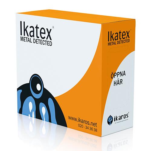 Ikatex 7035 Frotté Premium, Metalldetekterade kulörta torkdukar i box