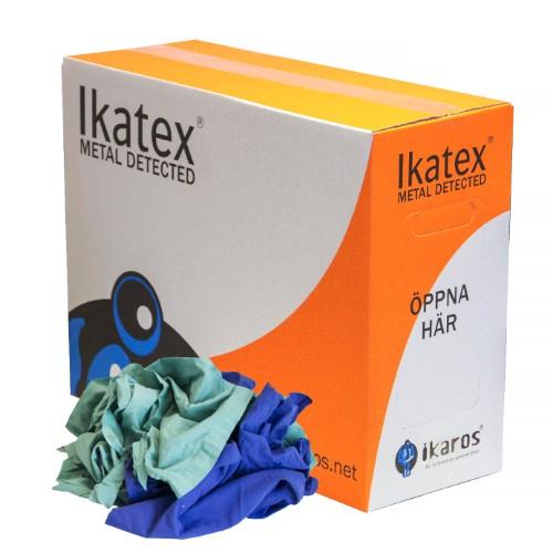 Ikatex 7045, Grön OP, Metaldetected, 10 kg/KARTONG
