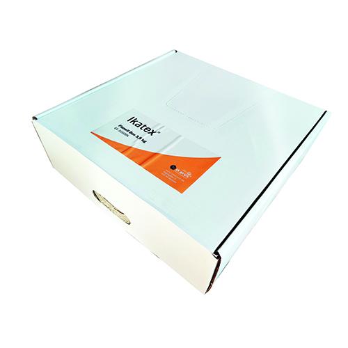 IKATEX Torkdukar i box, flanell, kulörta3,5kg