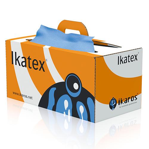 Ikatex Torkpapper, 3-lagers för svår smuts i bragbox