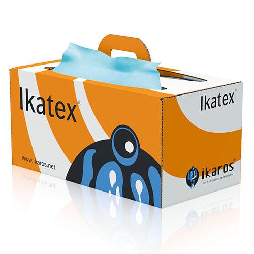 IKATEX Torkdukar i box 9005, nonwoven för svår smuts