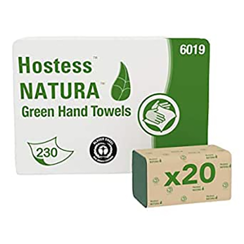 Handdukar Z-fold, gröna