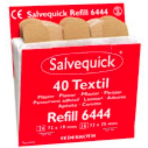 Textilplåster Refill,  6x40st