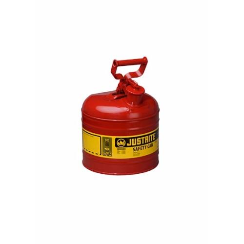 Säkerhetsbehållare Typ 1 av stål, 7,5 lit.