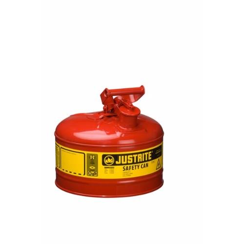 Säkerhetsbehållare Typ 1 av stål, 9,5 lit.