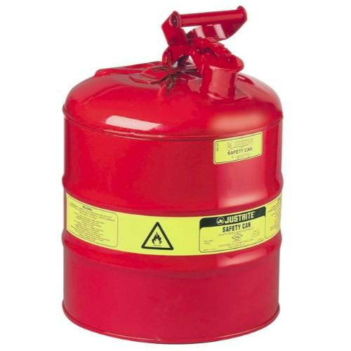 Säkerhetsbehållare Typ 1 av stål, 19 lit.