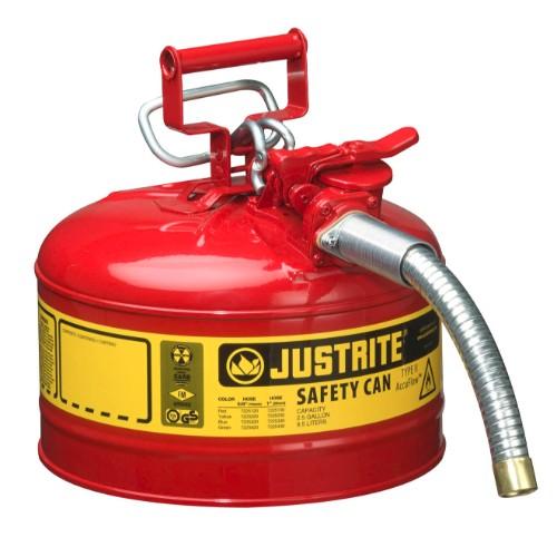 Säkerhetsbehållare Typ 2 av stål, 9,5 lit.
