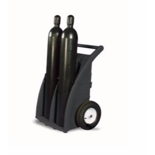 Cylinder Dolly Dubbel, Svart