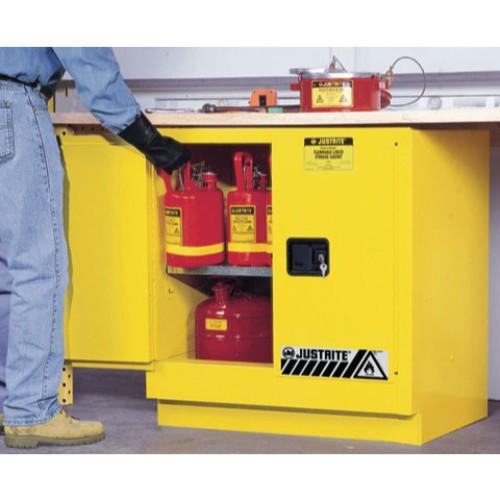 Underskåp för brandfarliga ämnen