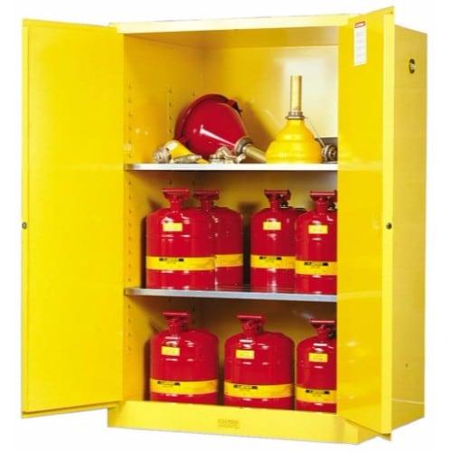 Säkerhetsskåp för brandfarliga ämnen