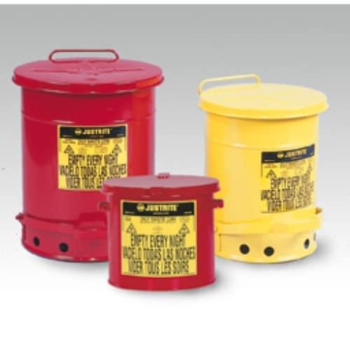 Avfallsbehållare 8 lit, Brandsäker