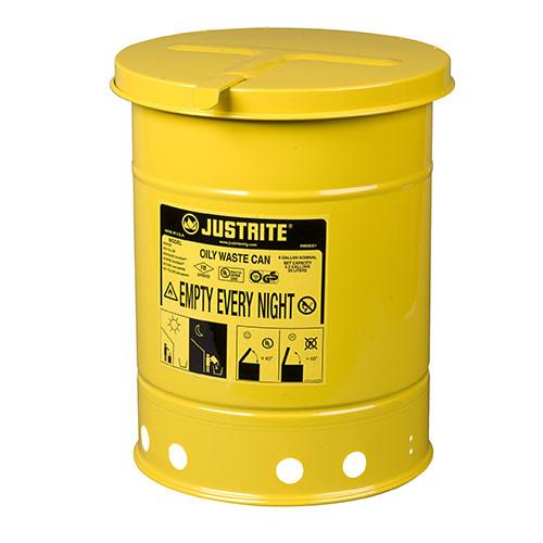 Avfallsbehållare 20 lit, Brandsäker