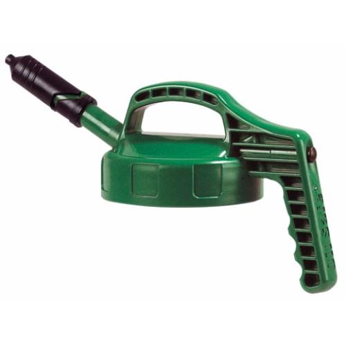 Mini-Lock med kort pip, Oil Safe, Grön