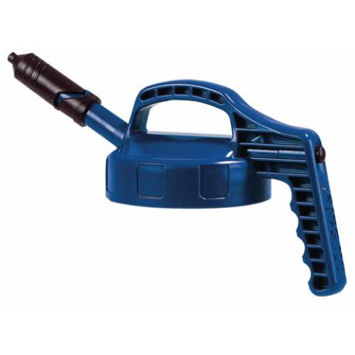 Mini-Lock med kort pip, Oil Safe, Blå