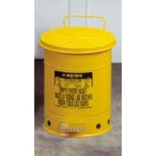 Avfallsbehållare 34 lit, Brandsäker, med fotpedal