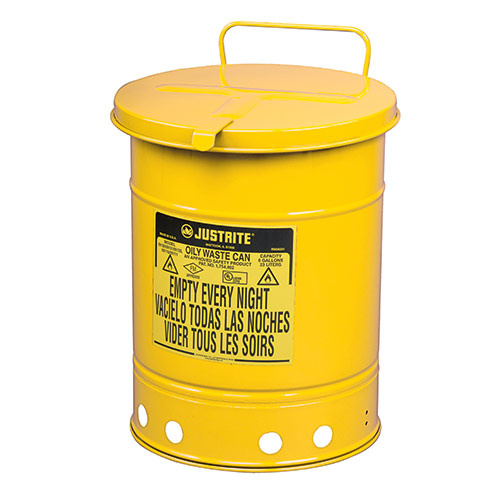 Avfallsbehållare 34 lit, Brandsäker