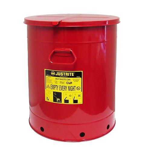 Avfallsbehållare 80 lit, Brandsäker