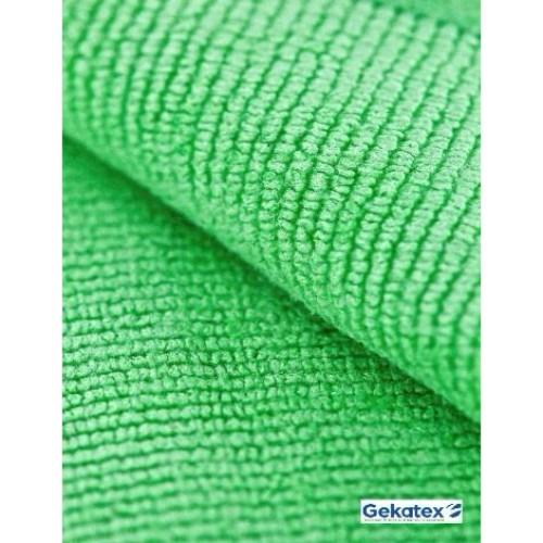 Microfiberduk 40/40,grön, 20x10st/frp