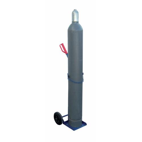 Gasflaskvagn GFR50-L, med luftfyllda gummihjul